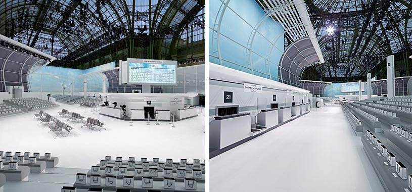 Chanel stage design