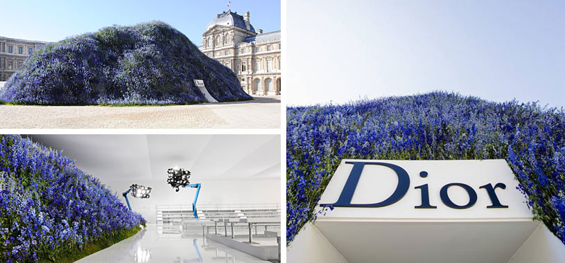Dior staging and design